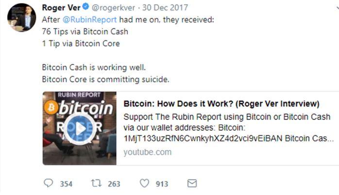 Roger Ver Twitter