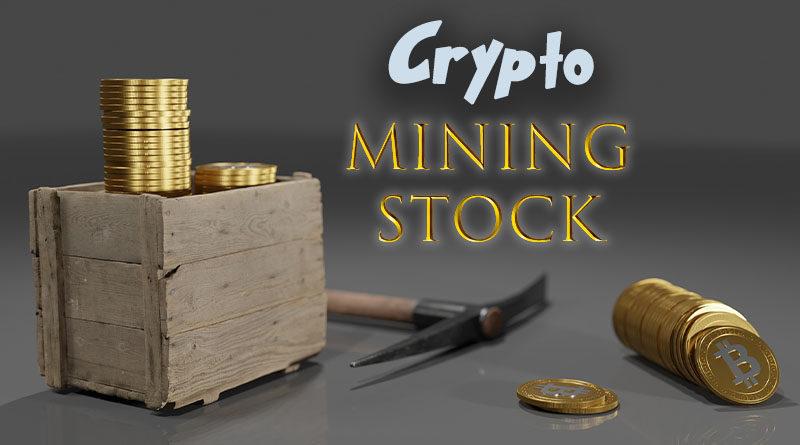 crypto mining stock